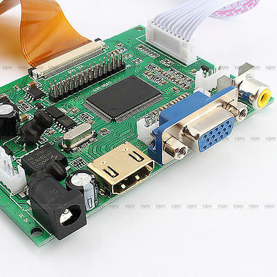 """10.1"""" inch TFT LCD Display With HDMI + VGA + Video Driver Board For Raspberry Pi"""