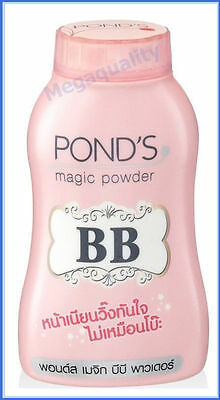Pond s BB Magic Powder Oil Blemish Control Double Uv Protection Face Body 50 g.