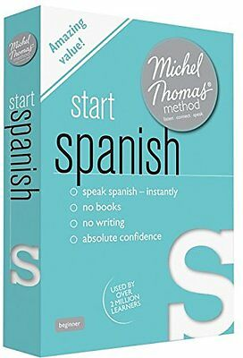Audio Cd Start Spanish (Learn Spanish W/ The Michel Thomas Method) Book By Mich