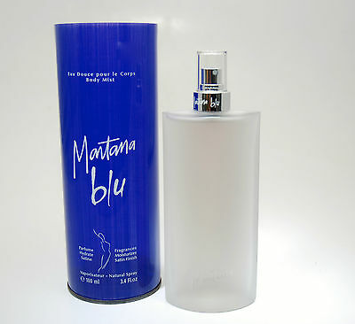 Montana Blu Body Mist 100 Ml Spray