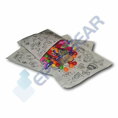 """5"""" x 5"""" Party Design Candy Cart Paper Bags Sweet Favour Gift Wedding Buffet"""
