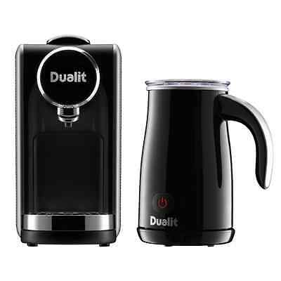 Dualit Lusso Cino Capsule Coffee Machine with Milk Frother, 20 Bar - 85160