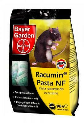 Bayer Racumin NF paste bait rat poison 200 gr Poison for mice rats rodents