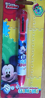 Superbe Stylo 8 couleurs  Mickey Disney