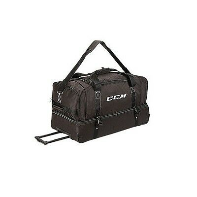 """New CCM EBOFF wheeled hockey referee official's equipment bag ice 30"""" ref"""