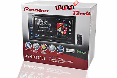 "Pioneer Avh-X1700S 6.2"" 2 Din  Mirror Link + Free Hd Back Up Camera +Guide Line"
