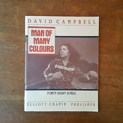 Man of Many Colours: Forty-Eight Songs by David Campbell
