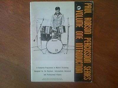 Paul Robson Percussion Series Volume One Introduction