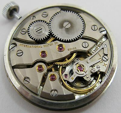 IWC 421 17 jewels manual Watch Movement for parts ...