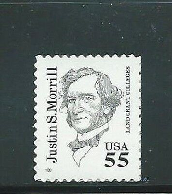 Cat. no. 2941 - 55c Justin S. Morrill - Great American Series stamps