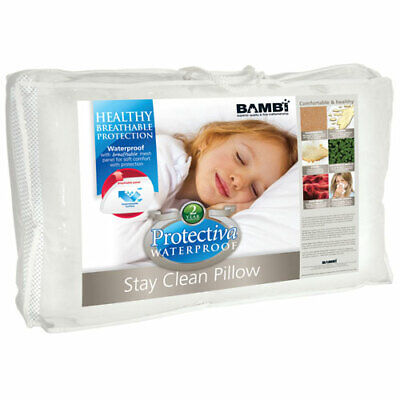 Bambi Protectiva Waterproof Stay Clean Junior Kids Pillow