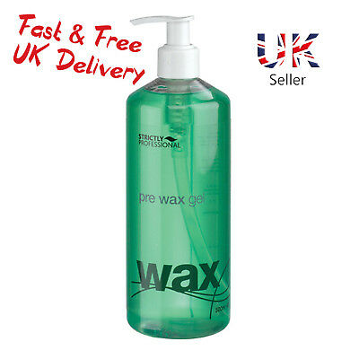 Strictly Professional Pre Wax Waxing Skin Cooling Gel With Camphor 500ml SPB0345