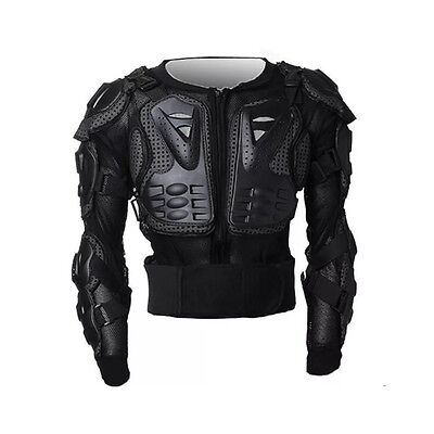 Motocross Motorcycle Bike Body Armor Jacket Chest Shoulder Protection Jacket New