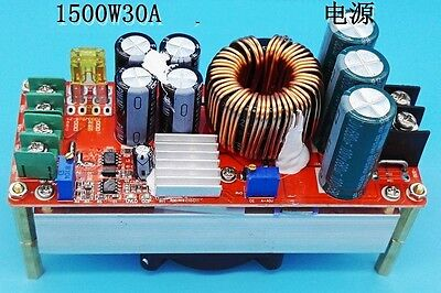 NEW 1500W 30A DC Converter Boost Power Supply Module 10-60V 12v Step-up 12-90V