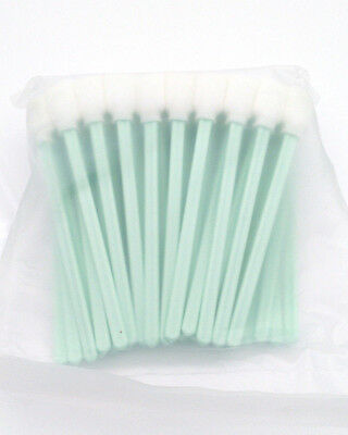 50PC Solvent Foam Tipped Cleaning Swab Indoor Outdoor Roland E pson Printhead