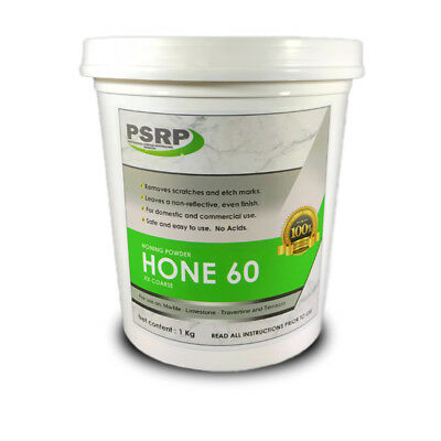 PSRP Hone 60Grit 1KG Honing / Cleaning Powder for Travertine, Marble, Limestone