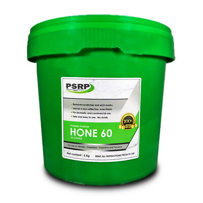 PSRP Hone 60Grit 5KG Honing / Cleaning Powder for Travertine, Marble, Limestone