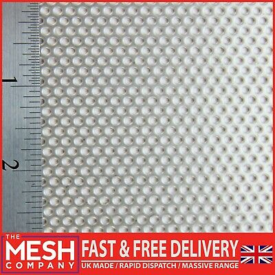 2mm Round Hole Perforated Sheet -3.5mm Triangular Pitch-1mm Thick-SS304 Grade