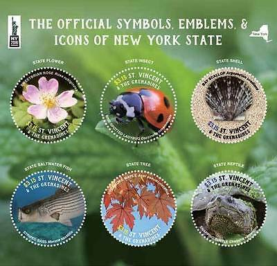 Saint Vincent and the Grenadines-2016-THE OFFICAL SYMBOLS/ICONS of NY STATE