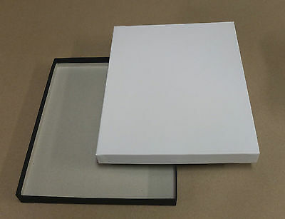 "Empty Paper Box 9.5 x 12"" White"