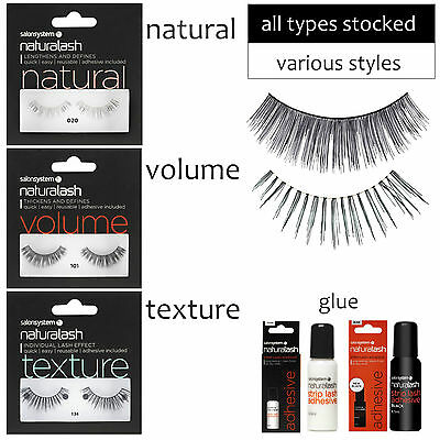 a7513c38ca0 Naturalash Strip Lashes Eyes Natural Volume Texture ALL TYPES by Salon  System