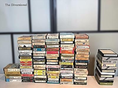 Approx 100 - 8 Track Cartridges