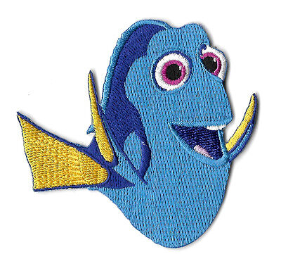 Dory - Finding Dory - Movie - Nemo - Embroidered Iron On Applique Patch - AR