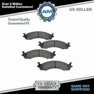 PCD702 FRONT Premium Ceramic Brake Pads Fits 1997-1999 Ford F-250
