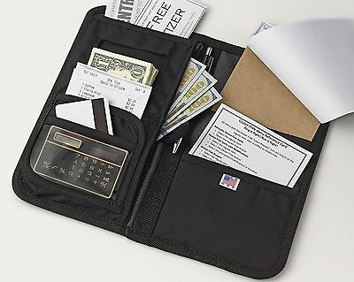 Deluxe Waiter Book Organizer With Money Pocket - Made in the USA - Best Seller