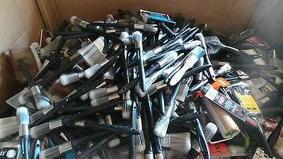 Wholesale Joblot Harris Decorating / Paint Brushes, Rollers, Broom Heads x 2185
