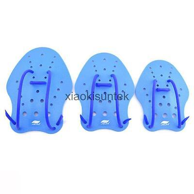 Triathlon Swimming Hand Paddles Gloves Muscle Improve Speed Power Training Aid