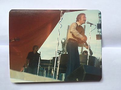 Country Music Star Marty Robbins Candid Photo On Stage