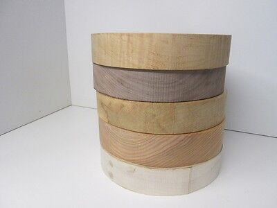 5 Pack Domestic Turning Blanks Bowl Blanks (2'' x 10'')