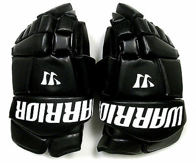 "New Warrior Fatboy box lacrosse goalie gloves 13"" black Lax indoor senior goal"