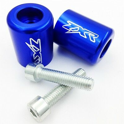 Handle Bar Ends For Kawasaki Ninja 250 ZX6 ZX6R ZX7 ZX9 ZX10 ZX10R ZX11 ZX14