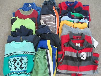 20 piece lot of Boys size 24 months mostly cold weather clothing