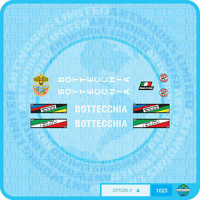 Transfers Decals 01024 Bottecchia Bicycle Stickers