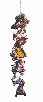 Baby Toy Chain Stuffed Animal Gang Storage Organizer Childs Bedroom Hammock Kit