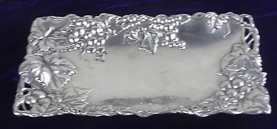 ARTHUR COURT 1996 Rectangular Grape Vine Serving Tray 11.5 inches