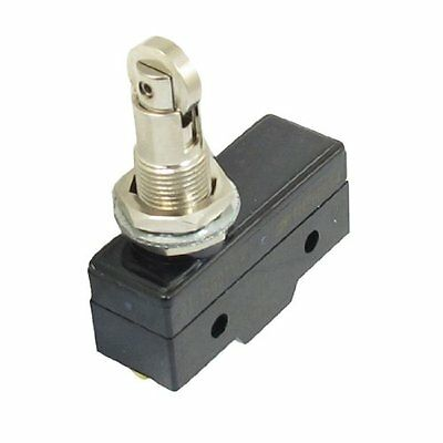 AC 250V 15A NO+NC SPDT Momentary Cross Roller Plunger Micro Switch Microswitch
