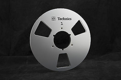 """New!  Technics 10.5"""" inch Metal Reels for 1/4"""" tape- Mint Condition"""
