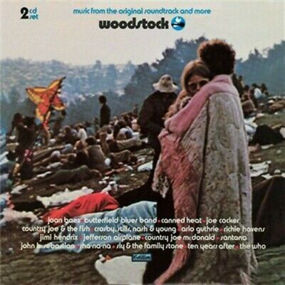 Woodstock - Music From The Original Soundtrack & More [CD New]