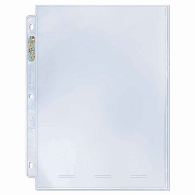 """Ultra Pro 1 Pocket Pages 8"""" X 10"""" (10)"""