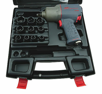 "Ingersoll Rand 2235Qtimax 1/2"" Sd Titanium Impact Wrench Kit 1760Nm Nbt"