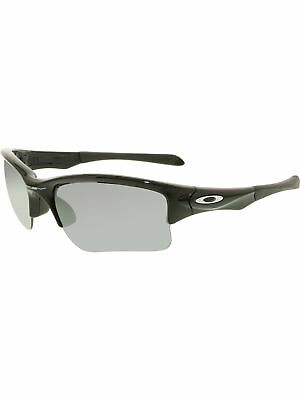 Oakley Boy's Quarter Jacket OO9200-01 Black Semi-Rimless Sunglasses