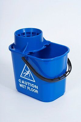 Abbey Blue Mop Bucket & Accessories Mop head/Squeegee/Sponge/Spray Bottle/Brush