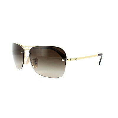 fe65f131750 RAY-BAN SUNGLASSES 3541 001 13 Gold Brown Gradient - EUR 104