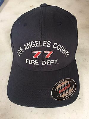 Los Angeles County Fire Station 77 Hat  Junkyard Dogs