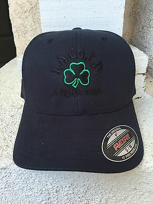 Los Angeles County Fire Department Black/Outlined Green Shamrock Hat