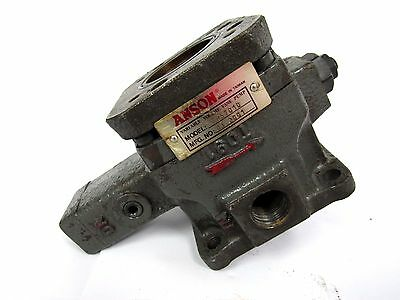 Anson Variable Volume Vane Pump Zr57010 03.2001 1601
